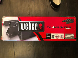 Weber 7636 Porcelain-Enameled Flavorizer Bars for Spirit 300 Series Gas