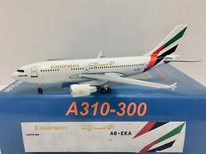 Aeroclassics 1:400 Emirates Airbus A310-300 A6-EKA + Free Tractor