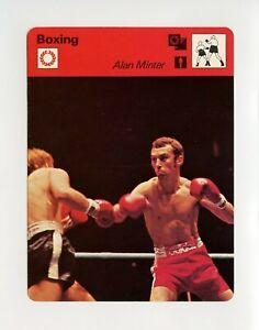 #TN09936 ALAN MINTER 1970'S Sportscaster Boxing Card