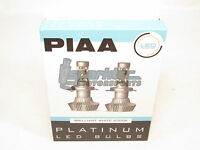 PIAA H13 9008 Platinum LED Headlight Light Bulbs Twin Pack Brilliant White 6000K