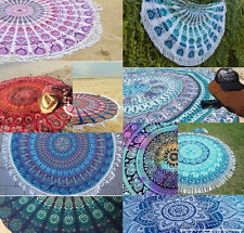 Wholesale 10 pc Indian Tapestry Mandala Roundie Throw Yoga Mat Bed Spread Sheets