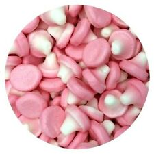 Foam Mushrooms 200g Grams Pick n Mix RETRO SWEETS Party Bags OLD FASHIONED