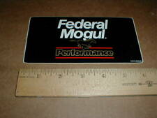 """Federal Mogul High Perf 1989 contingency vintage Drag racing decal sticker 6"""""""