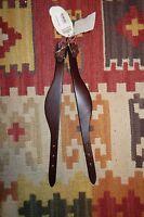 Weaver Flared/Straight Leather Fender Hobbles