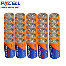 30 X LR20 D Size Battery 1.5V AM1 MN1300 Alkaline Industrial Batteries PKCELL