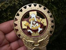 ACS - AUTOMOBILE CLUB SUISSE - SCHWEIZ 30er Jahre - Plakette Badge Emblem