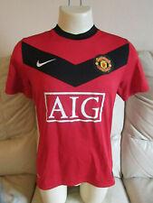 "Manchester United Home Shirt 2009/10 - Medium - Approx 40"""