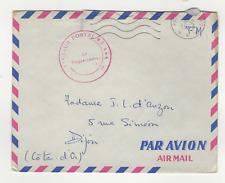 FM Algérie Poste aux Armées S.P. 87.444 cachet 1963 sur lettre /L808