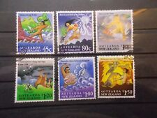 1994  New Zealand~Maori Myths~Fine Used~Stamp Set~ex fdc~ UK Seller~