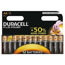 Duracell Plus Power Batterie Alcaline, Stilo AA, Confezione da 12