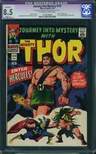 Journey into Mystery (Thor) # 124 US MARVEL 1965 Hercules Kirby CGC 8.5 VFN + CT