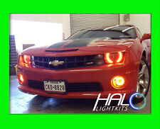 2010-2013 CHEVY CAMARO RS AMBER PLASMA HALO HEADLIGHT LIGHT KIT 2 Rings ORACLE