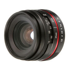 Manual Focus 25mm F1.8 Prime Camera Lens F Panasonic Olympus Micro M4/3 G2 E-pl1