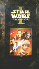 STAR WARS EPISODE 1 THE PHANTOM MENANCE VHS!  RARELY USED