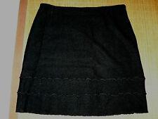 Wadenlange Damenröcke im A-Linien-Stil aus Wolle für Business-Anlässe