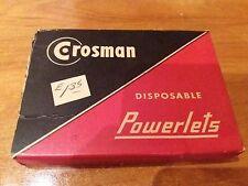 Coleccionista,-1ª Caja Crosman 1956- 2 Powerlets CO2(LLENOS)de 12,5 gr.