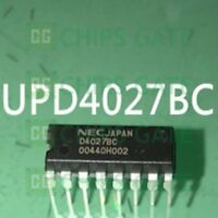 2PCS UPD4027BC DIP NEC