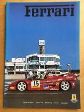 Ferrari Owners Club Magazine issue 125, vol 32, no 1, Spring 2000 VGC