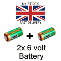 2x NEW 6v Battery for Contax RTS RTSII RTS2 etc 6V Alkaline FREE UK POST