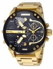 Diesel DZ7333 Mr.Daddy 2.0 Black Gold Dial Quartz Men's Watch