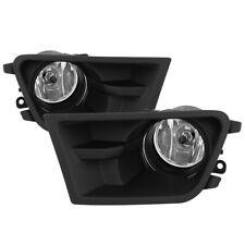 2010-2012 Ford Mustang V6 Glass Bumper Fog Lights w/ Switch+Bulbs+Relay+Wiring