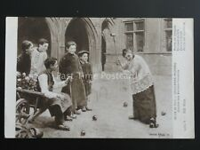 France CROQUET Paul-Charles Chocarne-Moreau BOYS AT PLAY c1912 by ND Phot 5984