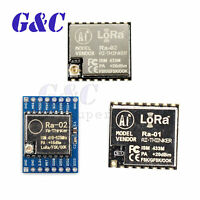 Ra-01/Ra-02 SX1278 433MHz LoRa Spread Spectrum Wireless Module SPI Transmission