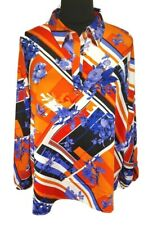 Marc New York Floral Tunic Blouse Pullover Long Sleeve Women Plus Size 3X