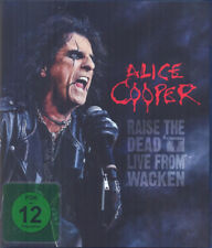 ALICE COOPER ALICE COOPER RAISE THE DEAD CD AND BLU-RAY NEW