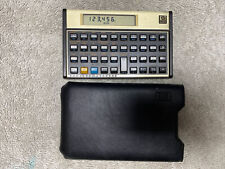 Hewlett Packard Hp 12c Financial Calculator With Case Sleeve