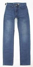 Billabong Mens Straight Fifty Jeans Emerald Blue 28 New