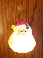 Santa Claus Face (Lights up) Nice!