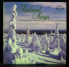 Various - Finland Sings Picture Of Song & Dance LP VG+ TW.91387 UK FFrr Vinyl