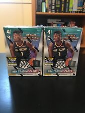 2019 / 2020 Panini Mosaic Lot of 2 Blaster Boxes Orange Fluorescent Prizm NBA