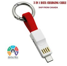 3 in 1 mini magnetic usb charging  cable for apple Lightning, Type-C, Micro USB