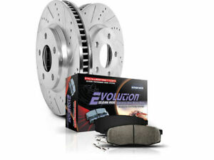 Fits 2006-2010 Dodge Ram 1500 Brake Pad and Rotor Kit Front Power Stop 39115BV 2