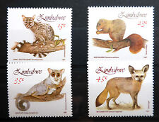 ZIMBABWE 1991 SMALL MAMMALS SG800-3 U/M NEW LOWER PRICE FP2973