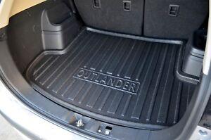 Cargo Trunk Mat Boot Liner Plastic Foam for Mitsubishi Outlander 12-21 ZJ ZK ZL