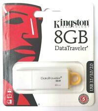 Kingston DataTraveler G4 8GB USB 3.1/3.0/2.0 Flash Drive Pen Drive ship from US