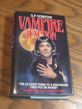S.P. Somtow - Vampire Junction  - HC 1st British Edition, Signed - 1986