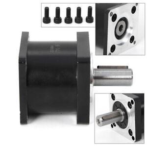 Planetary Gearbox Nema23  Ratio 5:1 Input Shaft D8mm Rabbet: D38.1MM Low Noise