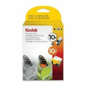 Genuine Kodak 10C 10B Ink Combo Pack Ink Cartridge 1 Black 1 Color