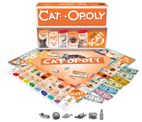 Cat-Opoly Monopoly Board Game by Late for the Sky , New, Free Shipping, New