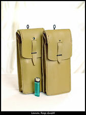 Französische Leder-Patronentasche - Algerienkrieg - 2 Stück