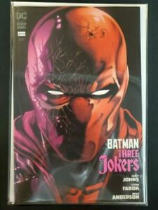 Batman Three Jokers #3 Red Hood Variant DC Comic Book Store Inventory