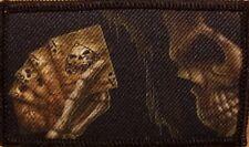 SKULL Patch W/ VELCRO® Brand Fastener Tactical Funny Bones  Emblem  #13