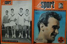 LO SPORT N°41/09.OTT.1952 - GUERRINI HA VINTO IL G.P. PIRELLI - GALLI CANNONIERE