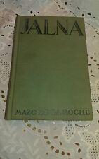 JALNA Mazo De La Roche 1928 Edition