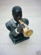 Büste Trompeter Louis Armstrong Jazz Musik Dekoration