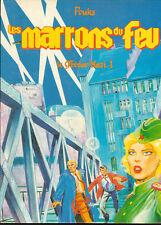 POUKS. Les Marrons du Feu. Le Trésor nazi. Deligne 1985